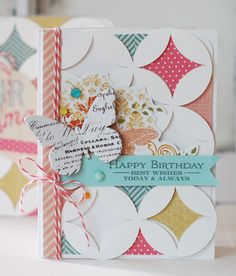 Card by Betsy Veldman - using  Pink Paislee cutting files