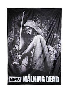The Walking Dead Michonne Banner,