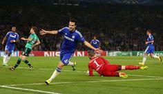 Fàbregas (x1) (Chelsea 1 Schalke 1)