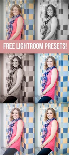 15 FREE Lightroom Presets to give your photos a variety of rad new looks in way less time!