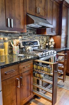 Marietta Kitchen & Hall Bathroom traditional kitchen