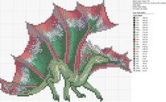 Christmas Green Red Dragon by carand88 on DeviantArt