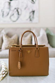 482bfda84 Bag Review: Prada Saffiano Double-Handle Tote Bag Prada Saffiano Bag, Prada  Tote