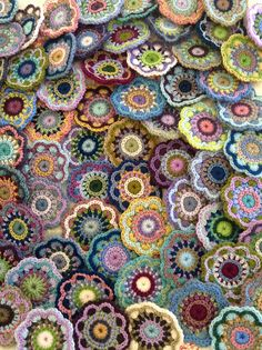 Crochet deliciousness by angelala242 on Flickr. Re-blog from the lovely Tumblr blog yarnbites.  Gorgeous! :-)