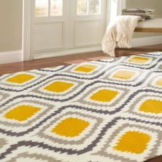 nuLOOM Handmade Modern Ikat Rug (5' x 8') | Overstock.com Shopping - Great Deals on Nuloom 5x8 - 6x9 Rugs