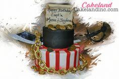 13. Pirate cake