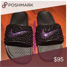 Custom Nike Benassi Slides