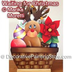 Waiting for Christmas ePattern - Marika Moretti - PDF DOWNLOAD