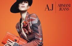 Aymeline Valade & Simon Nessman by Mert Alas & Marcus Piggott for Giorgio Armani Campaign FW 2012 3 Haute Couture Style, Couture Fashion, Runway Fashion, Women's Fashion, Giorgio Armani, Armani Prive, Style Work, My Style, Orange Gris
