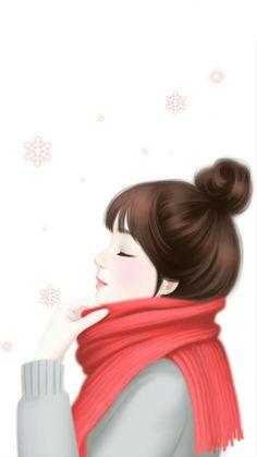 Imagem de Enakei, art, and girl