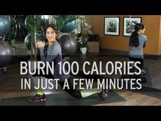 How to Burn 100 Calories in Just a Few Minutes - YouTube