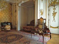 Bedroom alcove, Neues Palais, Potsdam.