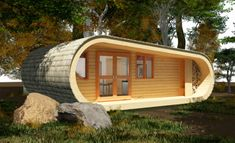 Essentially a prefab, eco-PERCH can be delivered and installed onsite in about five days. It boasts an impressive array of environmentally friendly features, such as photovoltaics, low-voltage LED lighting, double-glazed windows, composting toilets, and FSC-certified tongue and groove timber cladding.