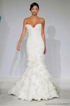 Mark Zunino for Kleinfeld Premiere bridal collection