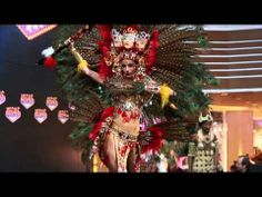 Miss universal National costumes show. They are all culture inspired costumes from each country. So bling bling so beautiful ;_; i watch this show just always because of this part.