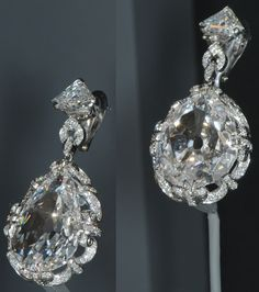 The Marie Antoinette diamonds - The original earrings were owned by Marie Antoinette, the queen of France; guillotined in 1793 during the French Revolution. Said to be a gift from her husband, King Louis XVI. According to one legend, she had them with her when she was arrested fleeing the French Revolution in 1791. Grand Duchess Tatiana Yousupoff of Russia later acquired the earrings. They stayed within her family until 1928.