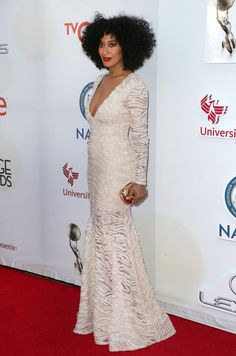 Tracee Ellis Ross at the 46th NAACP Image Awards