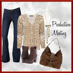 """""""Production Meeting"""" by cbslifestylist on Polyvore"""