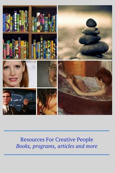 Resources For Creative People  http://talentdevelop.com/RCP