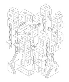 Sad City by Miquel Tura Rigamonti, via Behance