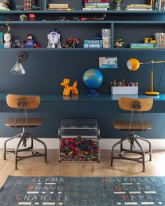 Kids space ~ THE NOVOGRATZ via @deuxpardeuxKIDS