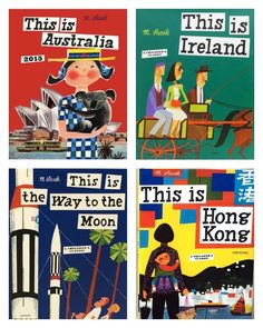 cool travel books for kids: The This Is . . . series by Miroslav Sasek. So very cool.