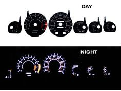 86-92 Toyota Supra NT Black/white Light Glow Gauge by High performance parts. $45.00. RIG-0450B Specification:   Gauge Faces are Anti-Glare and Scratch Resistant Surface.  Each kit comes with all accessories: Complete Wiring, Adjustable Power Inverter, Power switch and Gauge Faces