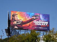 Guardians of the Galaxy Vol. 2 Star-Lord billboard