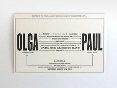 Olga & Paul Invites - nataliagrosner