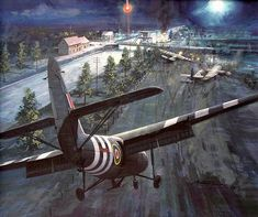 """D-Day begins. On the night of 5 June 1944 a force of 181 men led by Major John Howard took off from RAF Tarrant Rushton in Dorset southern England in six Horsa gliders to capture Pegasus Bridge, and also """"Horsa Bridge"""", a few hundred yards to the east, over the Orne River."""