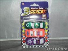 3 PACK DIECAST METAL/PLASTIC NEW