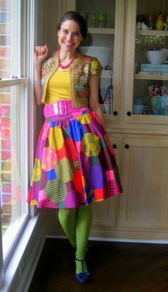 art teacher clothes: pop art