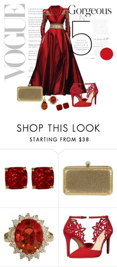 """Phantom of the Opera #01"" by adelinejaned on Polyvore featuring Randa, Kate Spade, Badgley Mischka and Jessica Simpson"