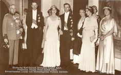 Princess Sibylla and Prince Gustav Adolf before their wedding
