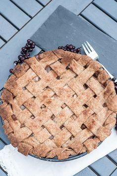 Lattice Apple Pie Recipe Vegan Whole Wheat - Vegan Family Recipes