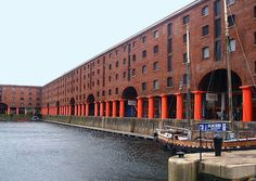 19TH CENTURY, Engineering Architecture, England -Jesse Hartley (1780–1860)& Philip Hardwick (1792–1870):Albert Dock's buildings and warehouses, Liverpool, 1845. (the first structure in Britain, wood  was completely replaced with cast iron, brick and stone.)