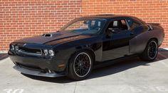 Black Dodge Challenger SRT