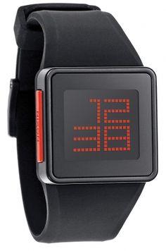 The newton digital black by NIXON - 129€