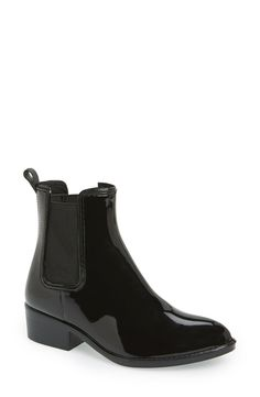 All too excited to puddle jump and play in these fetching Jeffrey Campbell rain boots.