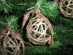 Handmade-Jute-Christmas-Ornaments-Primitive-Country-Western-Rustic