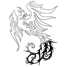 Dragon Tattoo Vinyl Decal