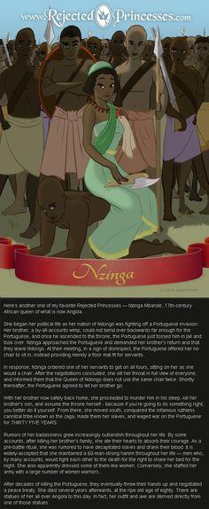 Nzinga - Rejected Princesses