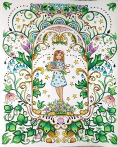 1422 Best Johanna Basford Malbucher Coloring Books Secret Garden
