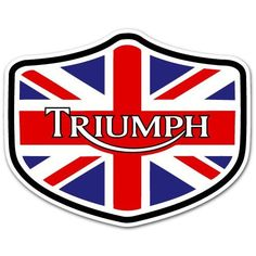 Hipster Cool Triumph Decal