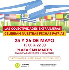 Comunidades extranjeras se suman al festejo patrio en Quilmes