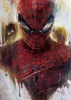 The Amazing Spidermanby ~lshgsk  Digital Art / Paintings & Airbrushing / Illustrations / Technical