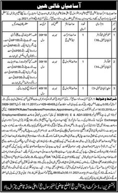 District and Session Judge Chitral Stenographer Job 2021