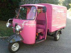 tirano piaggio ape three wheel ice cream van via della republica by le monde1 via flickr. Black Bedroom Furniture Sets. Home Design Ideas
