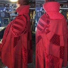 It's Con Crunch Saturday for Thought I would post some pics from when I was crunching out Doctor Strange last year. Heroes And Villains Costumes, Villain Costumes, Cosplay Costumes, Dr Strange Costume, Cloak Of Levitation, Doctor Strange, Halloween 2019, Avengers Infinity War, Comic Superheroes