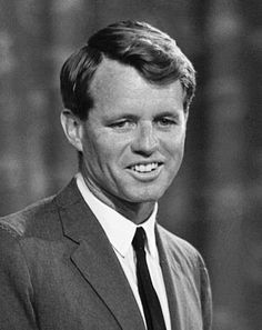 """Photo: Robert F. Kennedy, 19 August 1964. Credit: Library of Congress; Wikimedia Commons. Read more on the GenealogyBank blog: """"Robert F. Kennedy Dies after Shooting."""" https://blog.genealogybank.com/robert-f-kennedy-dies-after-shooting.html"""